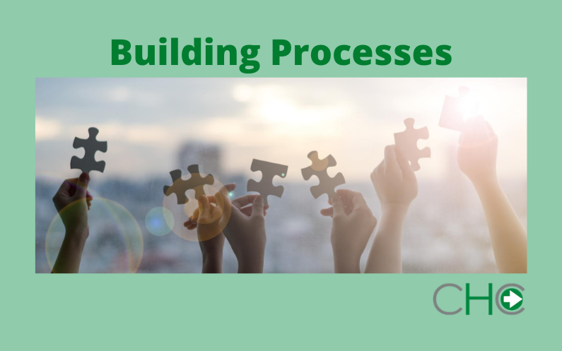 Building processes to support leadership through change